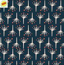 Fire Cracker From Modern Love By Monaluna Fabrics  100 % Organic