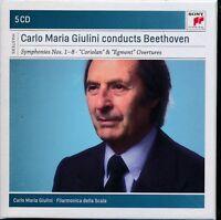 Carlo Maria Giulini conducts Beethoven 5-disc CD NEW