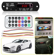 Wireless Bluetooth 12V Mp3 Wma Decoder Board Audio Module Tf Radio for Car