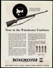 1945 WINCHESTER  Model 75 .22 Target Rifle PRINT AD