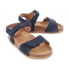 PePe Boutique Girls Shoes NEW Sz 22 EU 6/6.5 US Suede Blue Leather Sandals Italy