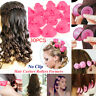 30Pc Magic Silicone Hair Curlers Rollers No Heat Former Styling Curling DIY Tool