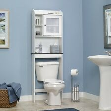 Over Toilet Bathroom Cabinet Shelving Storage Unit White Etagere 68in x 23.3in