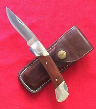 Buck 500 X Boy Scout Knife Excellent Estate Sale-Logo/Name/Date/Troop