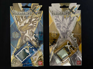 Bandai Digimon Digivice ver. X Antibody Evolution Ver 3 Yellow and Blue set