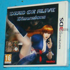 Dead or Alive Dimensions - Nintendo 3DS NDS - PAL New Nuovo Sealed