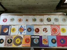 "Lot Of 25 Rock Pop Soul Country Disco 45 7"" Vg+ 1F"