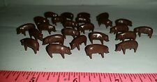 1/64 ERTL FARM COUNTRY TOY QTY of 25 ADULT duroc brown Pigs Hogs new in package