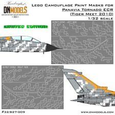 DN Models 1/32 Panavia Tornado ECR Lego Camouflage Paint Masks