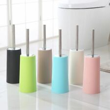 Stainless Steel Toilet Brush With Holders Bathroom Accessories Cleaning Supplies