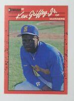 1990 90 Donruss Error Ken Griffey Jr #365, Mariners, HOF, No Period After Inc