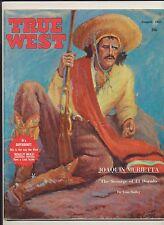 Vintage True West Magazine Joaquin Murietta The Scourge Of El Dorado Aug 1961