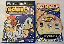 Sonic Mega Collection Plus - Sony PlayStation 2 - Complete - PAL - PS2