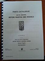 ASTON MARTIN DB5 ILLUSTRATED PARTS MANUAL REPRINTED A4 COMB BOUND