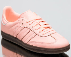 adidas Originals Wmns Samba OG Women New Shoes Clear Orange Sneakers B44691