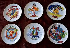 RARE!! HARD TO FIND! DC SUPER HEROES SERIES COLLECTOR PLATES FULL SET OF 6