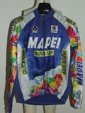 Maillot Vélo Veste Pile Synthétique Cyclisme Équipe Mapei SPORTFUL Taille L