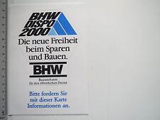 Adesivo sticker BHW (7725)