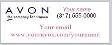 Personalized address labels Avon Buy 3 get 1 free (xco 949)