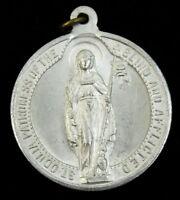 Vintage St Odila Medal Patron Saint of the Blind and Afflicited Shrine