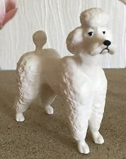 BESWICK DOG POODLE  MODEL No 1386 WHITE MATT FINISH PERFECT