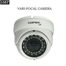 5MP CASPERi CCTV Varifocal Camera Dome HD 1920P 4IN1 In/Outdoor Night Vision