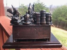 Bronze Art Sculpture Statue Wizard The Healer by Butch Honeck Fantasy
