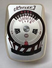 Metrawatt vintage light meter for camera, Horvex 3, instructions, case, German