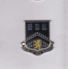 US Army 112th Engineer Battalion DUI crest c/b clutchback badge P-23