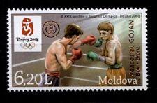 Olym.Spiele,Peking.Gewinn Medaille durch Boxer Veaceslav Gojan.1W.Moldawien 2008