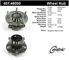 Wheel Bearing and Hub Assembly-Premium Hubs Rear Centric 407.46000