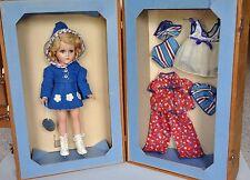 Arranbee R&B Nancy Lee Sonja Henie Skater Doll w/ Trunk and Clothes