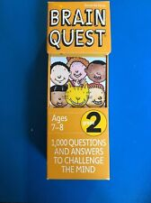 Brain Quest Cards: Grade 1 (Ages 6-7), Grade 2 (Ages 7-8)