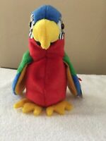 Jabber The Parrot Beanie Baby, Exotic Birds, Party Favor