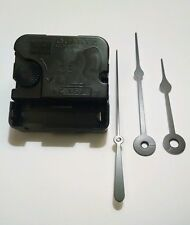 """Snap-in Takane Quartz Replacement Clock Movement USA MADE -NEW with 3 1/2"""" Hands"""