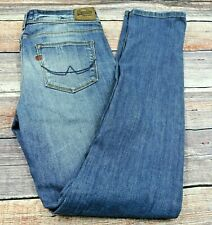 SuperDry Womens Jeans Standard Skinny Stretch  Blue  W28 L30