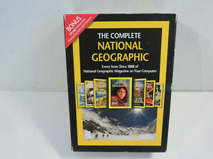 THE COMPLETE NATIONAL GEOGRAPHIC COLLECTION MAGAZINE PC WIN DVD MAC NEW SEALED