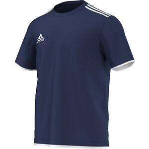 Adidas Core11 Tee Haut pour Entraînement Bleu/Blanc [V39418]