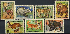 Czechoslovakia 1966 SG#1612-8 Game Animals MNH Set #D3409