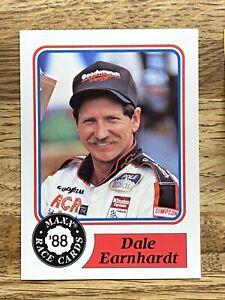 1988 Maxx Dale Earnhardt Rookie *RARE* Promo Card NM/M