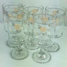 """Pfaltzgraff Dinnerware Wyndham Pattern Glass Tumbler 5 7//8/"""" 12 oz"""
