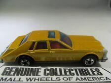 """'Vintage"""" Hot Wheels CADILLAC SEVILLE SEDAN REAL RIDERS Mattel 1980 Hong Kong"""