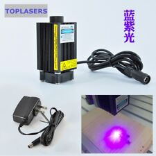 Adjustable Focal 500mw 405nm 12V Blue-Violet Industrial Engraving Laser Module