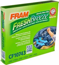 FRAM CF10743 Fresh Breeze Cabin Air Filter ~ Free Shipping