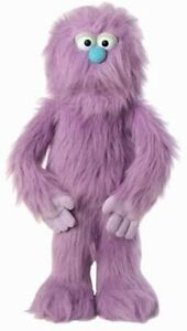 "76cm Purple Monster Plush Ventriloquist Puppet Doll 30"" Brand New"