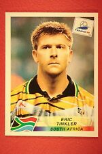 PANINI WC WM FRANCE 98 1998 184 SOUTH AFRICA TINKLER WITH BLACK BACK MINT!!