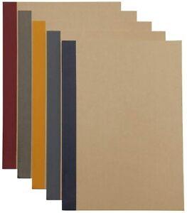 MUJI Notebook B5 6mm Rule 30sheets - Pack of 5books B00I6XY068