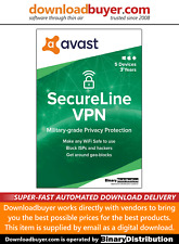 Avast SecureLine VPN 2020 - 5 Devices - 3 Years [Download]
