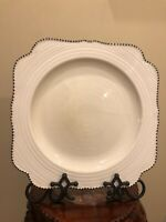 Vintage Crown Ducal Bristol Cream  Cake Serving Plate Scalloped Dotted Edges