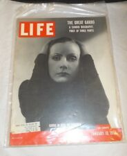 Vintage LIFE Magazine The Great Greta Garbo January 10, 1955